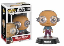 Pop Star Wars E7 Maz Kanata Vinyl Figure Box Damage