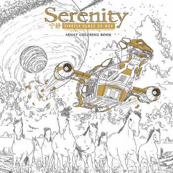 Serenity Adult Coloring Book TP