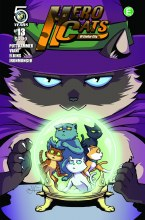 Hero Cats #13 Cover A Viani