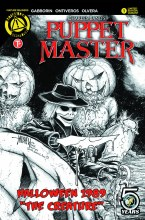 Puppet Master Halloween 1989 Special One Shot Cover D Mangum Sketch