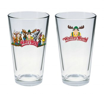 National Lampoons Vacation Marty Moose Pint Glass