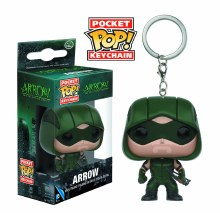 Pocket Pop Arrow Tv Arrow Vinyl Figure Keychain