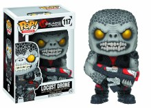 Pop Gears of War Locust Drone Vinyl Figure Box Damage