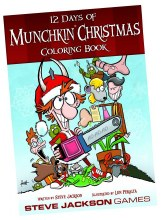 Munchkin 12 Days of Christmas Coloring Book
