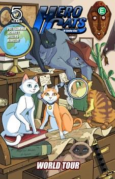 Hero Cats TP VOL 04 World Tour