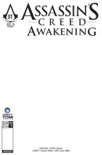 Assassins Creed Awakening #1 (of 6) Blank Sketch Variant (Mr)