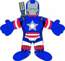 Marvel Universe Usavengers Iron Patriot 10in Plush