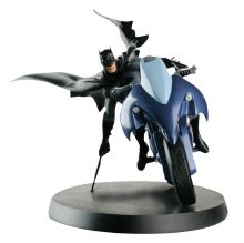 DC Superhero Best of Figurine Special #1 Batman Batcycle w/Mag