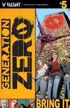 Generation Zero #5 Cover A Mooney