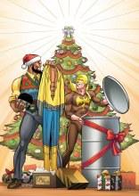 Power Man Iron Fist Sweet Christmas Annual #1 Von Eeden Variant