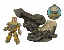 Aliens Minimates Dlx Space Jockey Set
