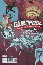 Gwenpool Holiday Special Merry Mix Up Henderson Variant