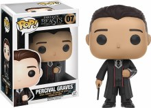 Pop Fantastic Beasts Percival Graves Vinyl Figure Box Damage