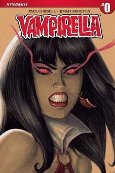 Vampirella #0 Cover B 1:50 Copy Linsner Sneak Peek Incentive Variant