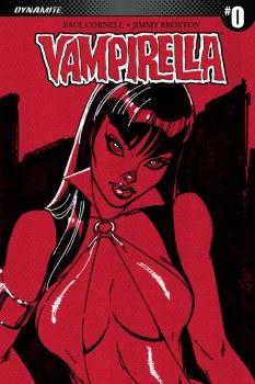 Vampirella #0 Cover C 1:100 Copy Campbell Sneak Peek Incentive Variant