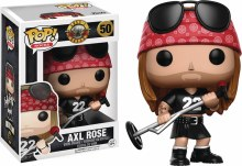 Pop Rocks GNR Guns n Roses Axl Rose Vinyl Figure Box Damage