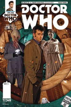 Doctor Who 10th Year Three #4 Cover B Photo