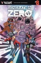 Generation Zero #8 Cvr A Evans