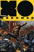 X-O Manowar (2017) #1 Cover D 1:20 Suayan Interlock Incentive Variant