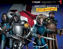 Immortal Brothers Green Knight #1 Cover B Suayan Wraparound