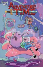 Adventure Time #63 Cover A Paroline & Lamb