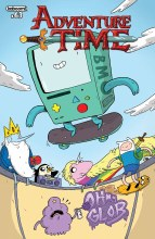 Adventure Time #63 Subscription Naujokaitis Cover