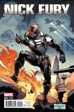 Nick Fury #1 Stroman Variant