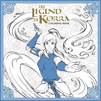 Legend of Korra Coloring Book TP