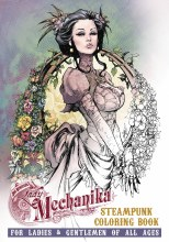Lady Mechanika Steampunk Coloring Book TP VOL 02