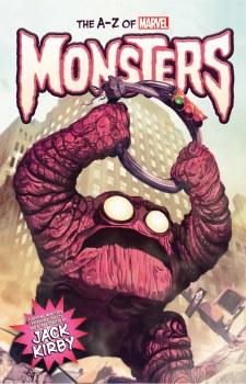 A-Z Marvel Monsters HC