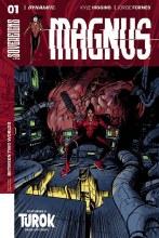Magnus #1 Cover D Johnson