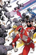Go Go Power Rangers #1 1:50 Incentive Mora Var