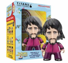 Beatles Titans Sgt Pepper Disguise George 4.5in Figure
