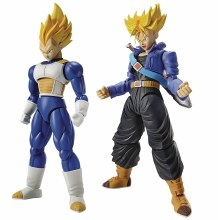 Dbz Super Saiyan Trunks & Vegeta Dx Figure-Rise Model Kit