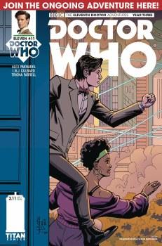 Doctor Who 11th Year Three #11 Cvr A Diaz