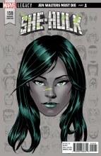 She-Hulk #159 Mckone Legacy Headshot Var Leg