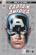 Captain America #695 Mckone Legacy Headshot Var Leg
