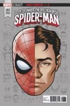 Peter Parker Spectacular Spider-Man #297 Legacy Headshot Var