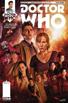 Doctor Who 10th Year Three #11 Cvr B Photo