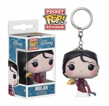 Pocket Pop Disney Mulan New Vinyl Fig Keychain