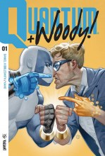 Quantum & Woody (2017) #1 Cvr A Tedesco