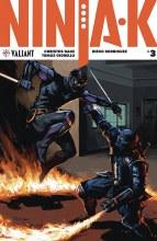 Ninja-K #3 Cvr B Troya