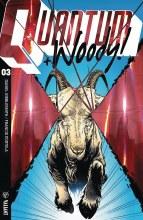 Quantum & Woody (2017) #3 Cvr B Ultra Foil Shaw