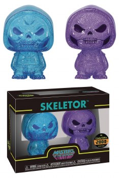 Hikari Xs Motu Skeletor Blue/Purple Figure 2pk