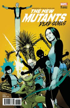 New Mutants Dead Souls #1 (of 6) Martin Var Leg