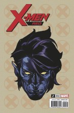 X-Men Red #2 Charest Headshot Var Leg Ww