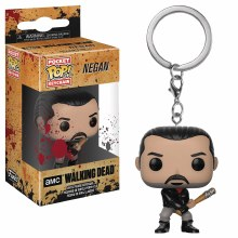 Pocket Pop Walking Dead Negan Vin Fig Keychain