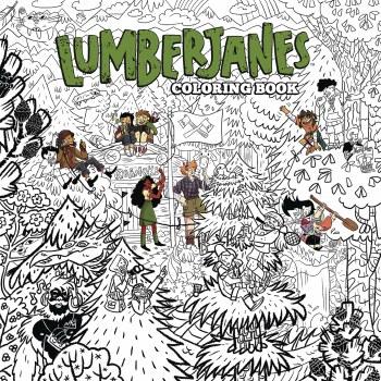 Lumberjanes Coloring Book TP