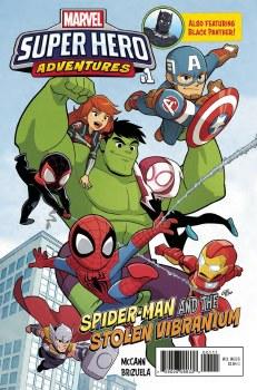 Msh Adventures Spider-Man Vibranium #1