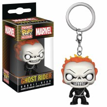 Pocket Pop Agents of Shield Ghost Rider Vin Fig Keychain